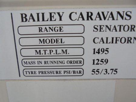 2009 Bailey SENATOR SERIES 6 CALIFORNIA